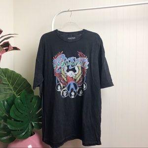 NWT >> Lucky Brand Aerosmith T-Shirt >> 2X